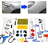 103 × Dents Tool Body Dents Set de reparación Dent Repair PDR Tools Kit Dent Set Usado para reparación Las abolladuras de Coche