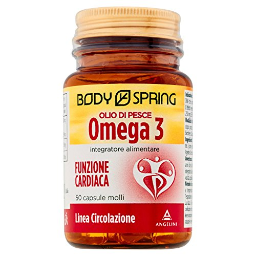 Body Spring Omega 3 (Olio di Pesce) - 50 capsule molli