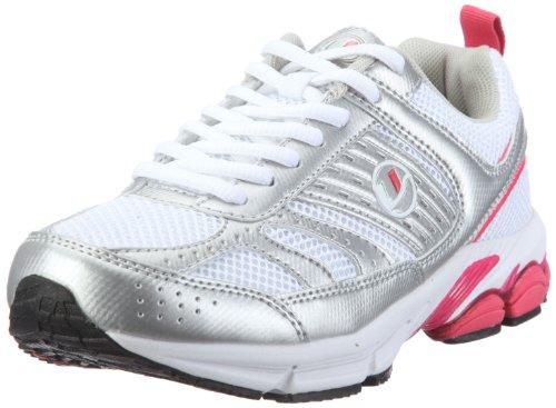 Ultrasport Sport und Laufschuh Modell 1,10065, Damen Sportschuhe - Outdoor, Pink (White/silver/pink 181), EU 38