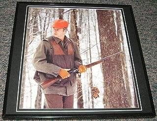 Bob Bobby Knight Hunting Indiana IU Texas Tech Framed 12x12 Poster Photo