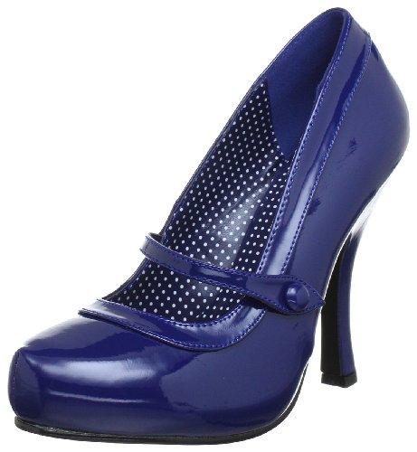 Pin Up Couture CUTIEPIE-02 Damen Pumps, Blau (Navy blue pat), EU 38 (UK 5) (US 8)