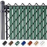 Fenpro W Slat Chain-Link Fence Slats with Bottom...
