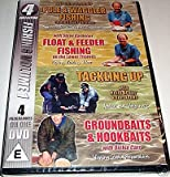 4 Fishing DVDs on 1 Disc (Vol 1) - Pole & Waggler, Float & Feeder, Tackling Up, Groundbaits & Hookbaits