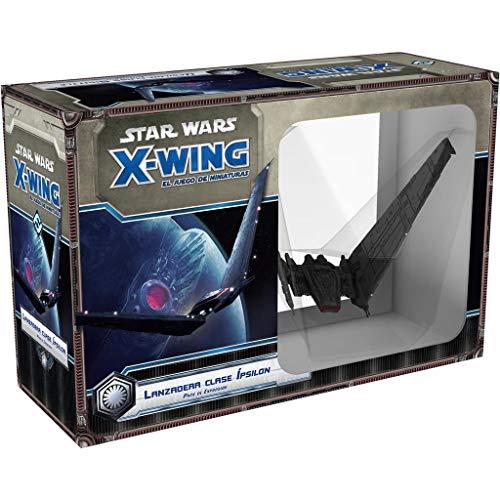 Fantasy Flight Games- Star Wars X-Wing: Lanzadera Clase Ípsilon - Español,...