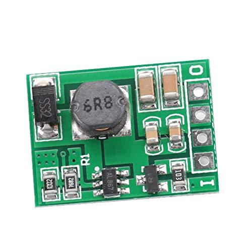 Módulo regulador de refuerzo de voltaje DC-DC 2.6-5.5V a 5V / 6V / 9V / 12V Fuente de alimentación elevadora para encendido/apagado(9V)
