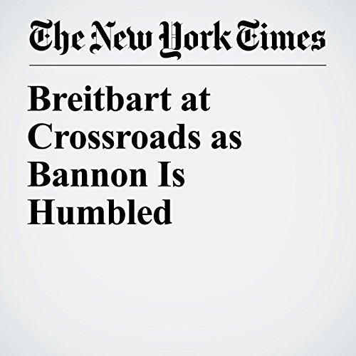 Breitbart at Crossroads as Bannon Is Humbled copertina
