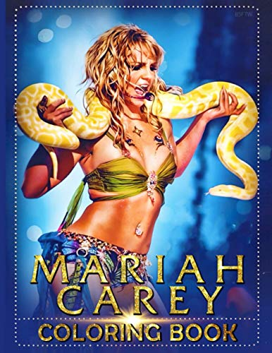 Mariah Carey Coloring Book: Unofficial High Quality Coloring Books For Adults Original Birthday Present / Gift Idea