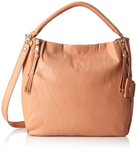 Liebeskind Berlin Damen Kano-Marrak Umhänge-Handtasche, blush pink, 18x35x31 cm