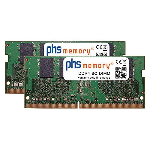 PHS-memory 8GB (2x4GB) Kit RAM modulo per QNAP TS-873-4G DDR4 SO DIMM 2400MHz PC4-2400T-S