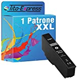 Tito-Express Cartucho ProSerie 1 compatible con Epson 33XL T3661 con 14 ml Photoblack XXL de contenido XP-640, XP-900, XP-645, XP-640, XP-540, XP-7100, XP-630, XP-635, XP-830, XP-630, XP-530.
