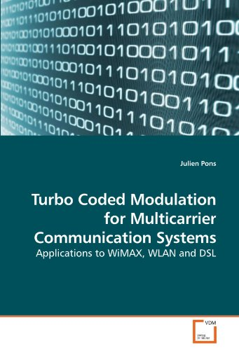 Turbo Coded Modulation for Multicarrier Communication Systems: Applications to WiMAX, WLAN and DSL