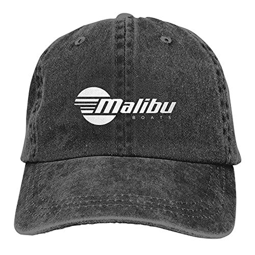 Opahxa5 Gorras de béisbol Malibu-Bosts Gorras Casquette de Mezclilla Lavada de Camionero Retro Ajustable para Adultos