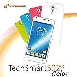 Techmade Smartphone Dual SIM, 4 GB ROM, Bianco [Italia]