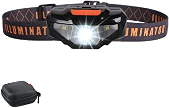 LED Headlamp Flashlight with Carrying Case,COSOOS Head Lamp,Waterproof Running Headlamp, Bright Headlight for Adults,Kids,Camping,Night Jogging,Reading,Dog Walking,Runner,Only 1.6oz/48g(NO AA Battery)