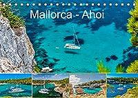 Mallorca - Ahoi (Tischkalender 2022 DIN A5 quer): Ein Kalender fuer alle Freizeitkapitaene. Wundervolle Bilder mit Segel- und Motoryachten in Buchten und Haefen Mallorcas (Monatskalender, 14 Seiten )
