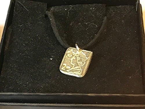 2. Klasse Stempel tg136aus englischen Zinn auf 45,7cm schwarz Schnur Halskette geschrieben von uns Geschenke für alle 2016