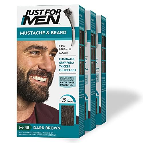 JUST FOR MEN Mustache & Beard, Beard Coloring for...
