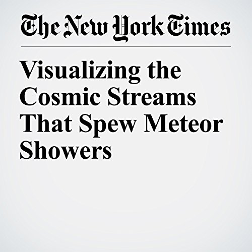 Visualizing the Cosmic Streams That Spew Meteor Showers copertina