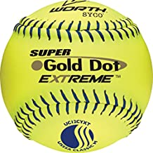 Worth Gold Dot Extreme Classic M USSSA 12 Inch Softball: UC12CYXT