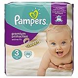 Pampers Active Fit - Le paquet de 28 - Changes bébé T3 4-9KG
