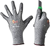 GYC Gloves, Cut Resistant Safety Work Gloves - Level 5 Cut Protection, 10 Pairs Pack - Excellent Dexterity & Breathability, Comfortable Soft PU coated (TK-713A/Size 10 - X-LARGE)