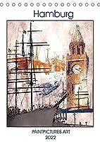 Hamburger Art (Tischkalender 2022 DIN A5 hoch): Hamburg als Kunst (Monatskalender, 14 Seiten )