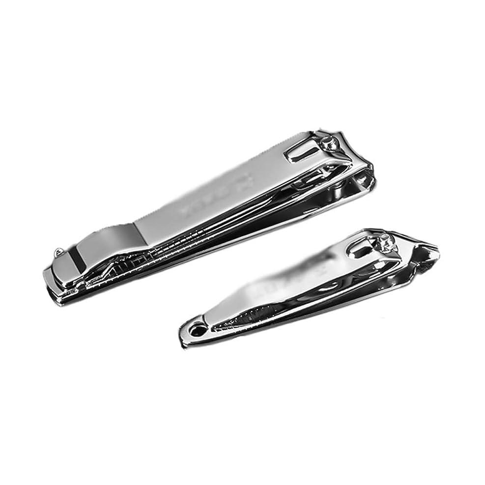 引き付けるラグ呼びかける2部分の男性および女性のステンレス鋼旅行釘ファイルが付いている斜めの釘バリカン厚い釘バリカン