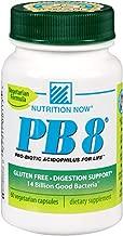 Nutrition Now PB 8 Pro-biotic Acidophilus Capsules, Vegetarian, 60 Count