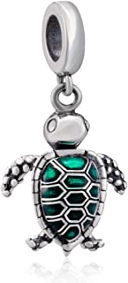 Wonderful Ocean Underwater World 925 Sterling Silver Bead Shark Turtle Tropical Fish Charm Fit Original Bracelet