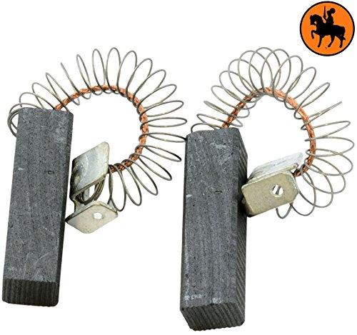 Buildalot universele koolborstels bu_8719468495649 voor Bosch stofzuiger GAS 1000, Bosch stofzuiger GAS 1000 RF, Bosch stofzuiger GAS 900 RF, Bosch stofzuiger PAS 1000, Bosch stofzuiger PAS 1000 F, Bosch stofzuiger PAS 900 - 6,4 x 8 x 29 mm - 0,25 x 0,31 x 1,14 '' - met veren, kabel en stekker - vervanging voor originele onderdelen 1.609.201.664