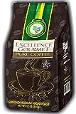 EXCELLENCE GOURMET Ground Gourmet Brazilian Coffee 12oz 340g MEDIUM-HIGH Roast 100% Natural Arabica Yellow Catuai Gluten Free Kosher Passover