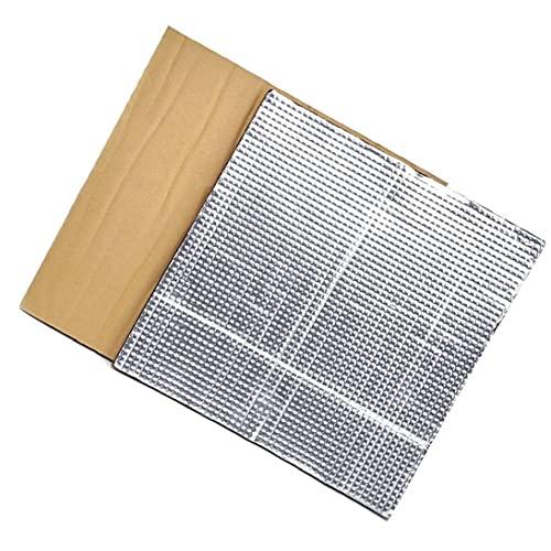 totalizador parcial Plataforma caliente cama de aislamiento térmico semillero bloque de aislamiento estera de la espuma 3D impresora calienta Cama Aislamiento Térmico algodón 2 piezas de plata