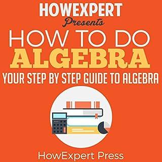 How to Do Algebra audiobook cover art