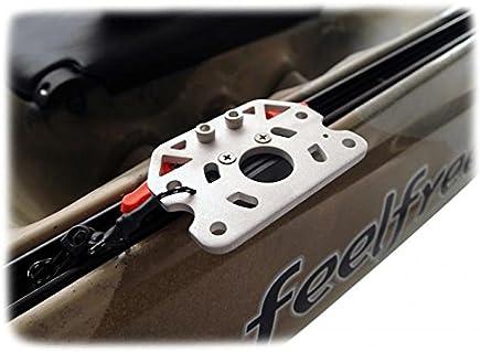 Unbekannt FeelFree Paddel f/ür Kajakangler Aluminium 250cm