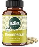 Brennnessel Kapseln Bio - 450mg je Kapsel - Brennesselblatt Pulver - Urticae folium - Höchste Reinheit - Hergestellt und kontrolliert
