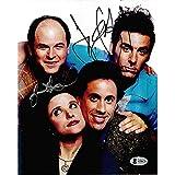 Jerry Seinfeld/Jason Alexander Autographed Signed Seinfeld Cast 8x10 Inch Photo Proof Beckett BAS