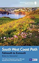 South West Coast Path: Falmouth to Exmouth: National Trail Guide (Trail Guides)