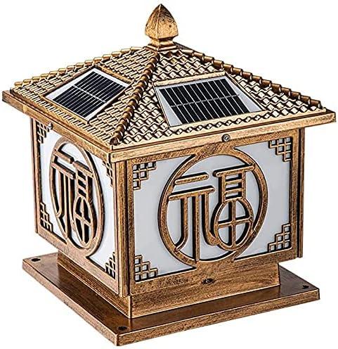 Large-scale sale GDLQ Finally resale start Landscape Garden Solar Pillar Outd Energy-Saving lamp