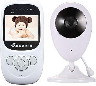 改良版 ベビーモニター ベビーカメラ 見守り 遠隔監視カメラ 双方向音声通話 子守唄 暗視撮影 防犯り ボイスセンサー搭載 介護 赤ちゃん 出産祝い HD高画質 一年間安心保証