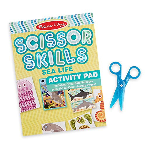 Melissa & Doug Sea Life Scissor Skills Activity Pad