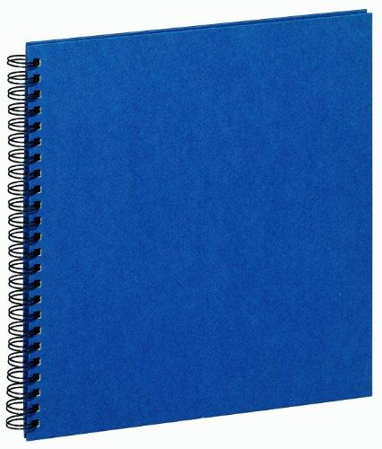 Pagna 12180-07 Album photo à spirales Viva avec 40 pages cartonnées noires 310 x 320 mm (Bleu marine) (Import Royaume Uni)