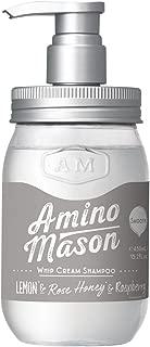 Cosmeist Inc. Amino Mason Smooth Whip Cream Shampoo, 15.20 Ounce