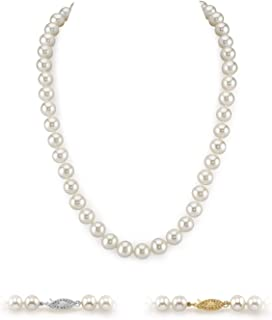 Genuine 8-9 MM Natural Multicolor Freshwater Cultured Pearl Necklace 48/'/' Long