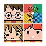 Amscan International Harry Potter - Tovaglioli per il pranzo, confezione da 16 Luminoso.
