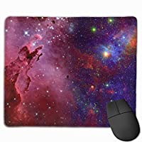 マウスパッド オフィス最適 星空 グラデーション 幻 夜空 ゲーミング 防水性 耐久性 滑り止め 多機能 標準サイズ25cm×30cm