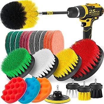 carpet brush drill attachment