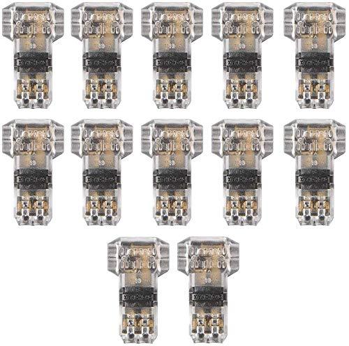 TANCUDER 12 PCS Conectores de Empalme Rápido en...