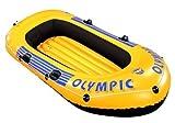 Wehncke Uni Badeboot Boot-set Olympic 270, gelb, 61 x 27.50 x 18 cm, 10562