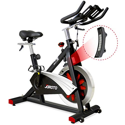 JOROTO Belt Drive Indoor Cycling Bike with Magnetic Resistance Exercise Bikes Stationary...