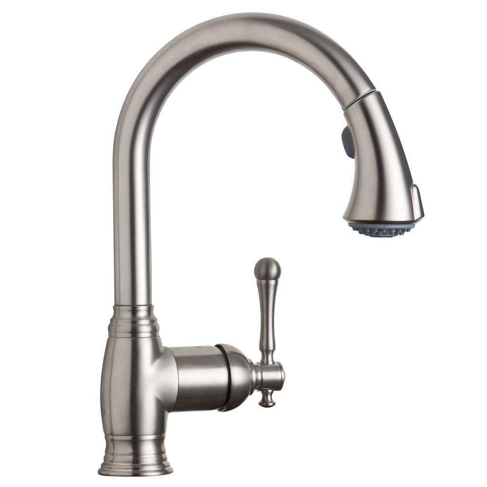 Grohe 33 870 Ene Bridgeford Watercare Dual Spray Pull Out Kitchen Faucet Brushed Nickel Touch On Kitchen Sink Faucets Amazon Com